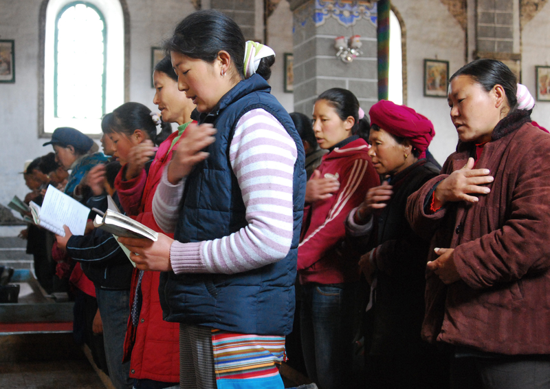 Paroisse catholique en Chine